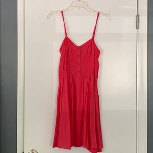 Coral pink Express dress